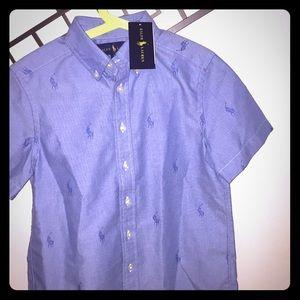 Ralph Lauren NWT Polo shirt 👕 Sz. 8